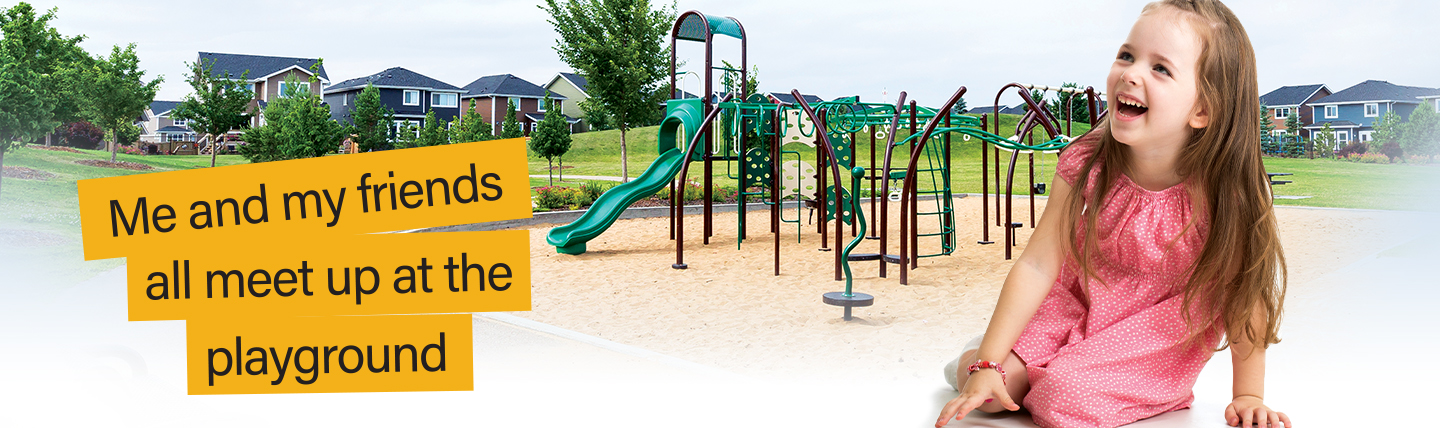 Playgrounds in Southfork Leduc