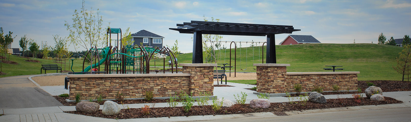 new build communities +amenity +playground +school +edmonton +leduc